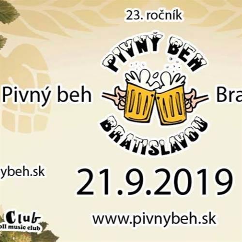 Pivný beh Bratislavou 23