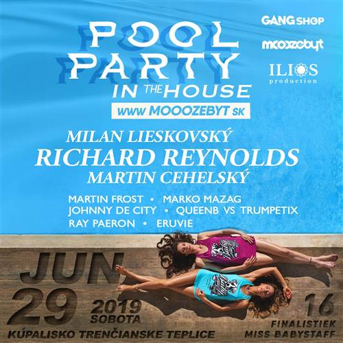 POOL PARTY in the HOUSE
