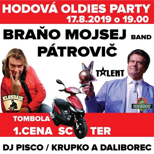 Hodová Oldies PARTY v Klondajku