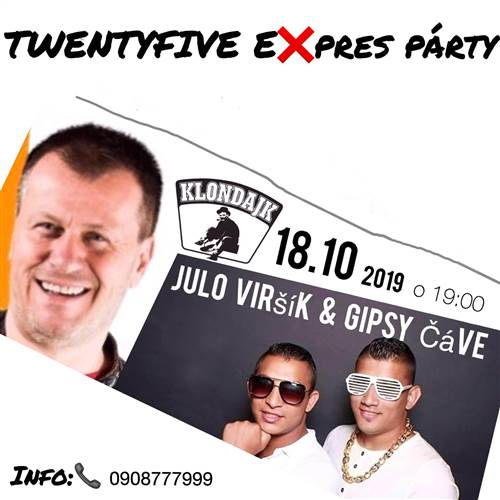 Oldies Expres PARTY s Julom Viršíkom