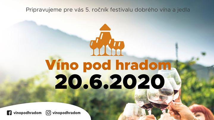 Festival Víno pod hradom v Trenčíne 2020