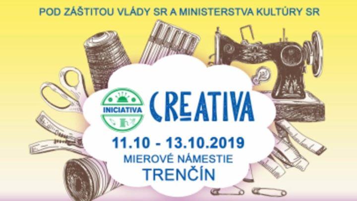 Iniciatíva Creativa trhy 2019 - Trenčín