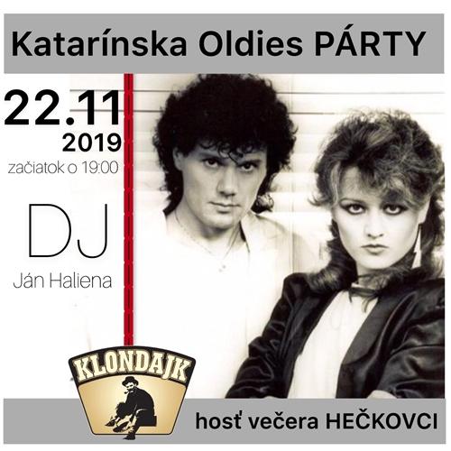 Katarínska Video Oldies PÁRTY a Hečkovci